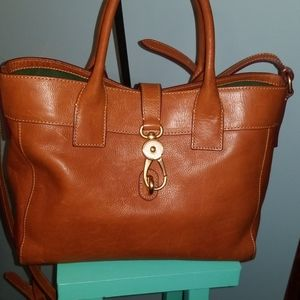 Dooney and Bourke Tan Leather Tote